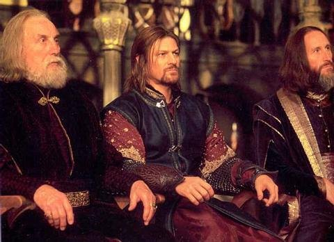 Boromir in the fellowship of the ring